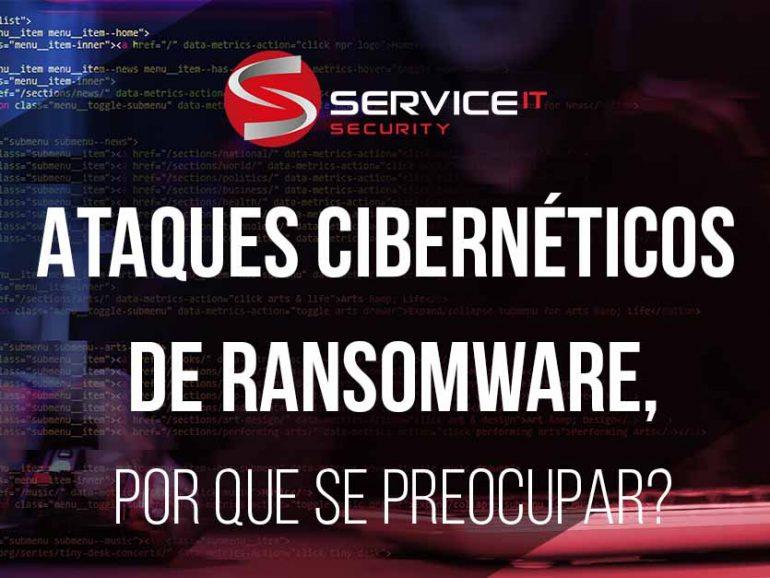 Ataques cibernéticos de Ransomware, por que se preocupar?